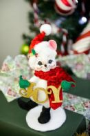 Annalee Doll - Joy To The World Mouse